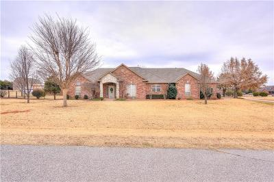 Mustang Single Family Home For Sale: 9517 Clear Springs