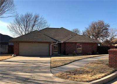 Midwest City Single Family Home Pending: 1609 Pennington Circle