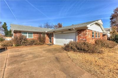 Midwest City Single Family Home For Sale: 3709 Rolling Lane