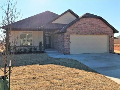 Mustang Single Family Home For Sale: 1736 W Trout Way