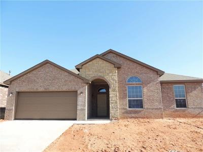 Mustang Single Family Home For Sale: 3608 Molly Drive