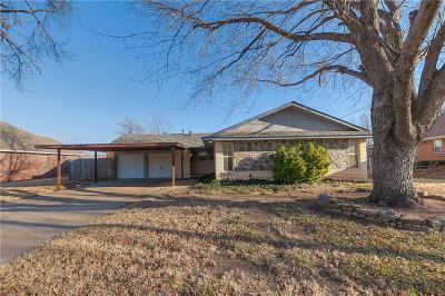 Del City Single Family Home For Sale: 4780 Princess Lane