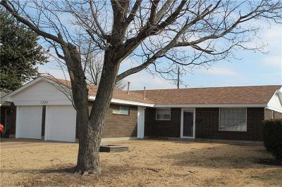 Oklahoma City OK Single Family Home For Sale: $109,995