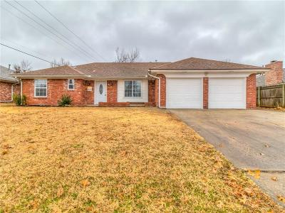 Oklahoma City OK Single Family Home For Sale: $209,500
