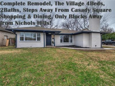 The Village Single Family Home For Sale: 1722 Oxford Way