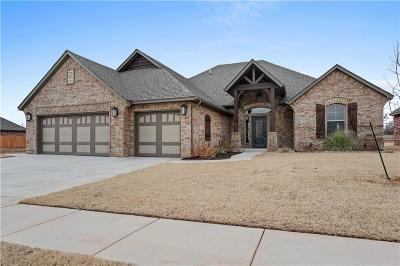 Mustang Single Family Home For Sale: 4521 Hidalgo Drive