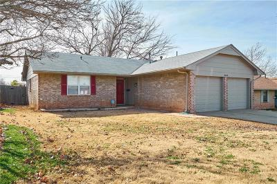 Del City Single Family Home For Sale: 4008 Dentwood Terrace