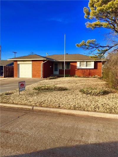 Del City Single Family Home For Sale: 4813 SE 19th Street