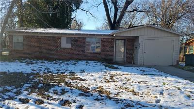 Del City Single Family Home For Sale: 1913 Cherry Lane