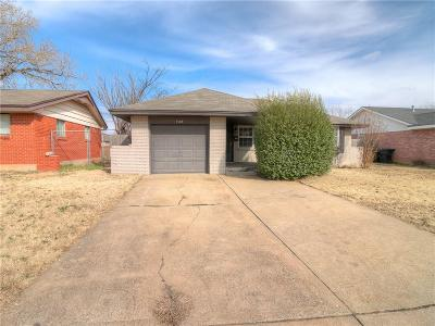 Moore OK Single Family Home For Sale: $103,500