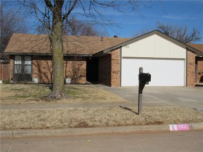 Mustang Single Family Home Pending: 755 W Forest Drive