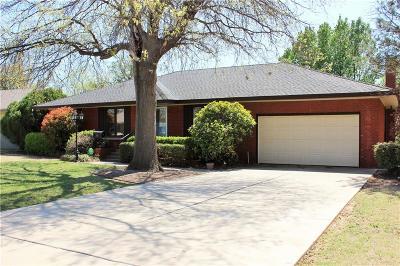 Nichols Hills Single Family Home For Sale: 1828 Drakestone Avenue