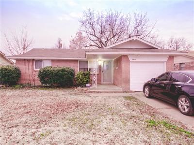 Oklahoma City Single Family Home For Sale: 2712 SW 82nd Street