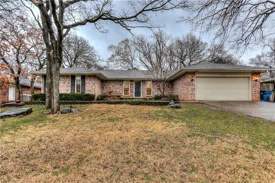 Edmond Single Family Home For Sale: 1604 Ridgecrest Road
