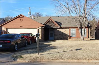 Midwest City Single Family Home For Sale: 10313 Caton Place #OK