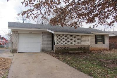 Del City Single Family Home For Sale: 2200 Candy Lane