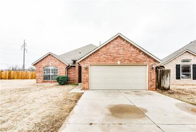 Midwest City Single Family Home For Sale: 1604 S Brook Drive