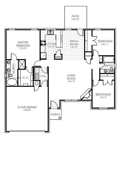 Newcastle Single Family Home For Sale: 1730 Karrington Road