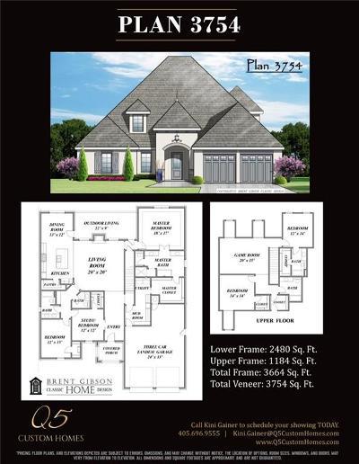 Edmond Single Family Home For Sale: 15708 James Thomas Court