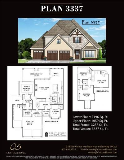Edmond Single Family Home For Sale: 15709 Cambria Court
