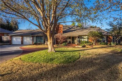 Nichols Hills OK Single Family Home For Sale: $765,000