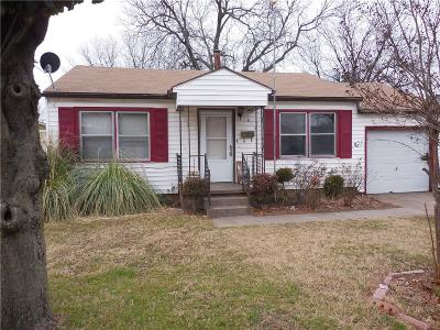 Midwest City Single Family Home For Sale: 813 Sandra Drive
