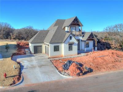 Edmond Single Family Home For Sale: 8017 Grass Creek Drive