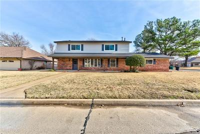 Oklahoma City Single Family Home For Sale: 3000 Tudor Road