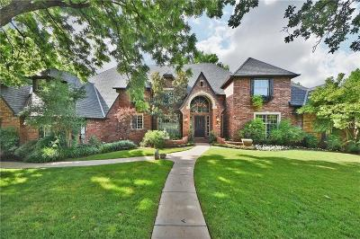 Edmond Single Family Home For Sale: 6504 Oak Forest Road