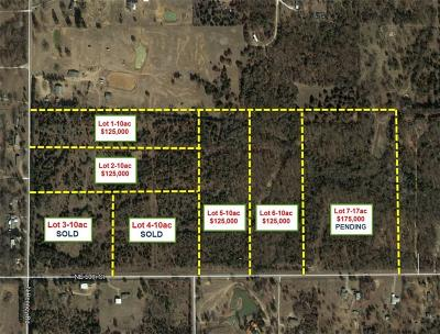Choctaw Residential Lots & Land For Sale: 5100 N Henney #lots 1,2