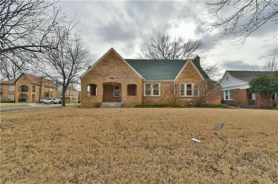 Oklahoma City Single Family Home For Sale: 2800 NW 20th Street