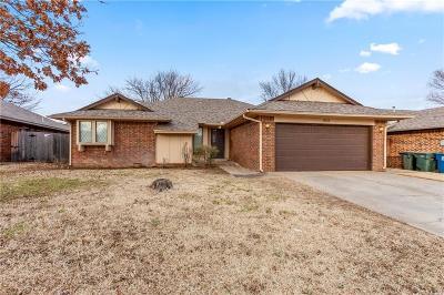 Edmond Single Family Home For Sale: 2833 Allens Trail