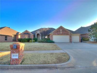 Edmond Single Family Home For Sale: 18319 Salvador