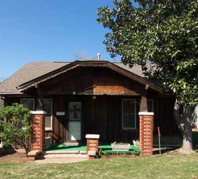 Duncan Single Family Home For Sale: 1307 W Beech Avenue