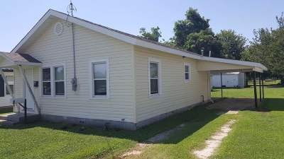 Marlow Single Family Home For Sale: 312 &312 1/2 W Osage