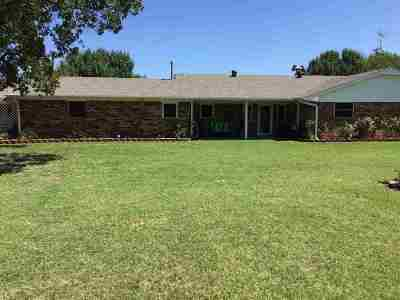 Comanche Single Family Home Active-Take Backups: 182628 N 2774 Rd