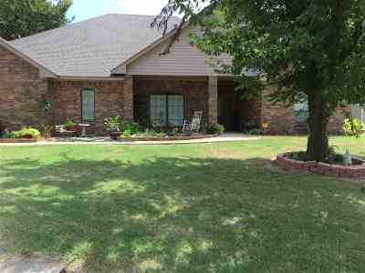 Marlow Single Family Home For Sale: 1806 Sunset