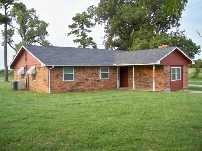 Rush Springs Single Family Home For Sale: E On Rocky Ford Road