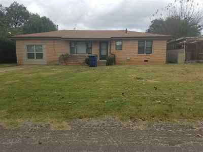 Duncan Single Family Home For Sale: 1503 Mosley
