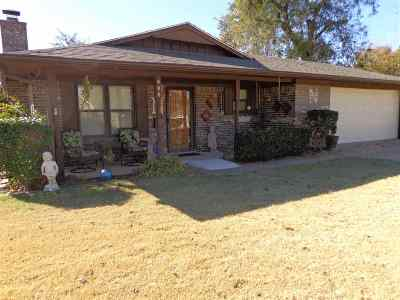 Marlow OK Single Family Home Sold: $118,000