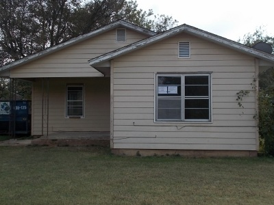 Duncan Single Family Home For Sale: 1310 W Cypress