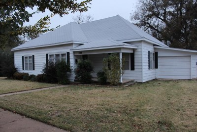Marlow Single Family Home Active-Take Backups: 408 N 4th