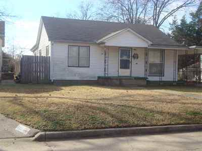 Duncan Single Family Home For Sale: 814 Cherry