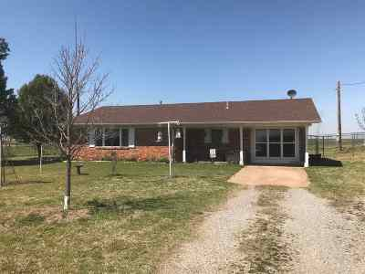 Marlow OK Single Family Home Sold: $175,000