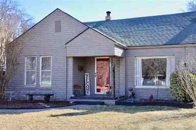 Duncan Single Family Home For Sale: 1410 W Cedar
