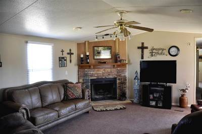 Comanche OK Single Family Home For Sale: $124,000