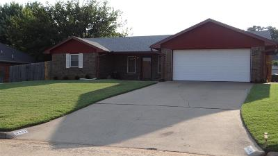 Duncan Single Family Home For Sale: 3401 Jacquelyn