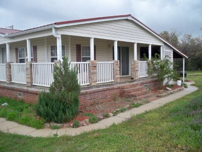 Rush Springs Single Family Home For Sale: W Hwy 17
