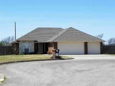 Duncan OK Single Family Home Sold: $140,000