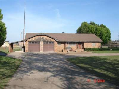 Marlow OK Single Family Home For Sale: $185,000